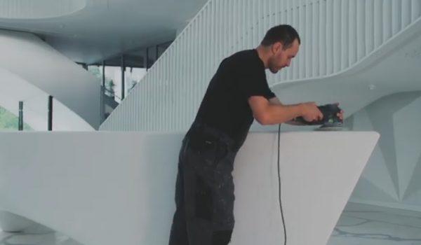 Stalviršių montavimas